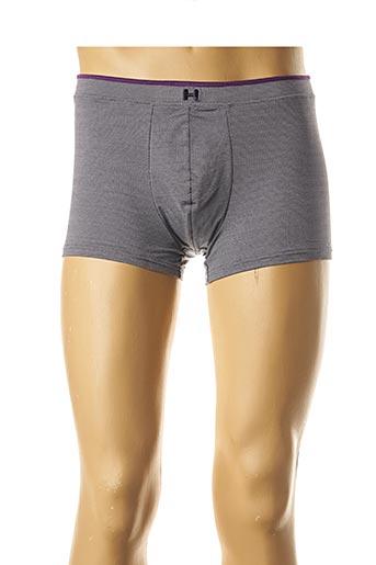 Shorty/Boxer gris HOM pour homme