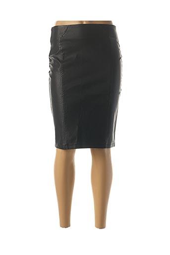 Jupe mi-longue noir DROLE DE COPINE pour femme