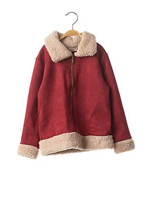 Manteau court rouge P'TIT MÔME pour fille