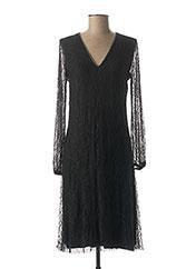 Robe mi-longue noir EMA BLUE'S pour femme seconde vue