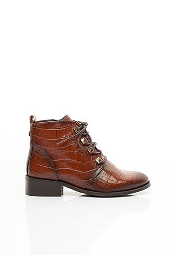 Bottines/Boots marron MLV pour femme