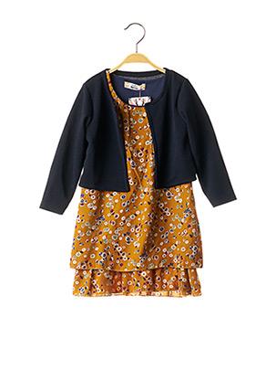 Veste/robe jaune P'TIT MÔME pour fille