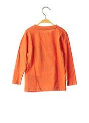 T-shirt manches longues orange KNOT SO BAD pour garçon seconde vue