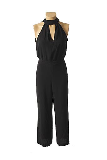 Combi-pantalon noir SWEEWË pour femme