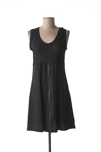 Robe courte noir LAUREN VIDAL pour femme