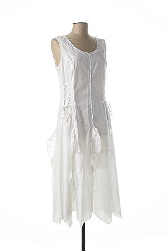 Robe longue blanc EVALINKA pour femme