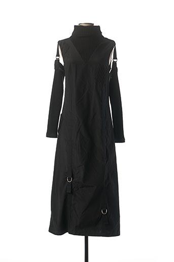 Robe longue noir LA FEE MARABOUTEE pour femme