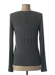 T-shirt manches longues gris LA FEE MARABOUTEE pour femme seconde vue