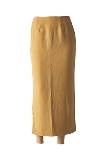 Jupe longue beige COCO MENTHE pour femme