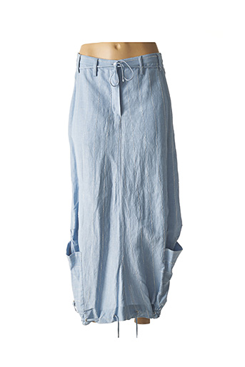 Jupe longue bleu LAUREN VIDAL pour femme