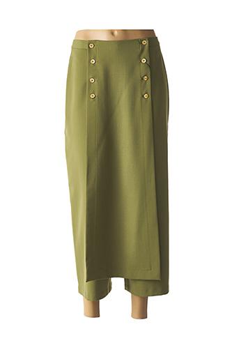 Jupe longue vert ROSA ROSAM pour femme