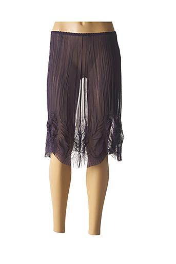 Jupon /Fond de robe violet DECA pour femme
