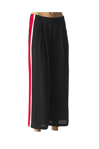 Pantalon 7/8 noir SWEEWË pour femme