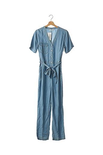 Combi-pantalon bleu MSCH COPENHAGEN pour femme