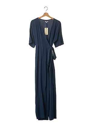 Combi-pantalon bleu BEST MOUNTAIN pour femme
