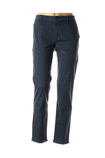 Pantalon chic bleu BEST MOUNTAIN pour femme