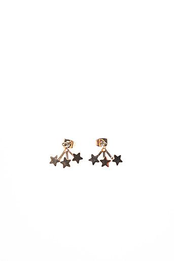 Boucles d'oreilles rose ZAG pour femme