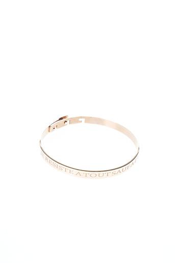 Bracelet rose ZAG pour femme