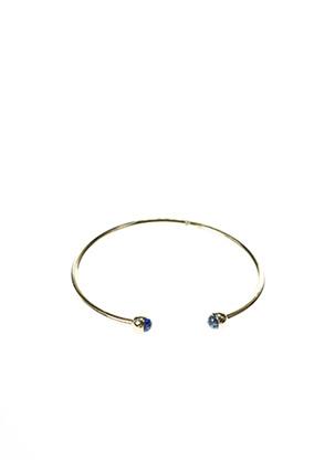 Bracelet Jonc jaune ZAG pour femme