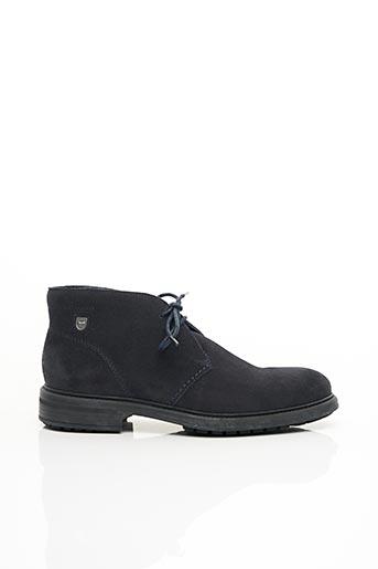 Bottines/Boots bleu EDEN PARK pour homme