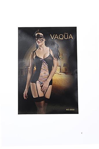 Body lingerie noir VAQUA pour femme