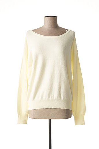 Pull col rond beige ARTLOVE pour femme