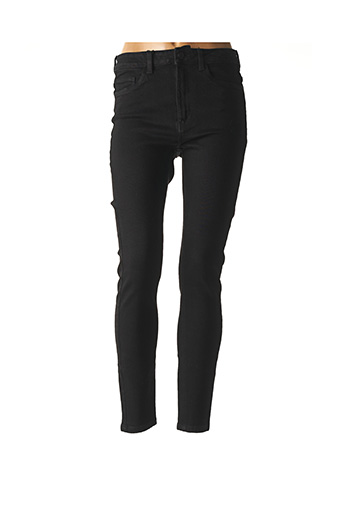 Jeans skinny noir NOISY MAY pour femme