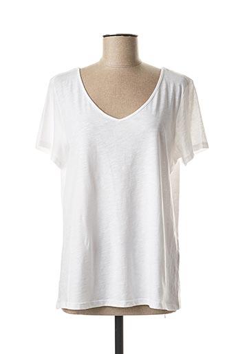 T-shirt manches courtes blanc ESPRIT pour femme