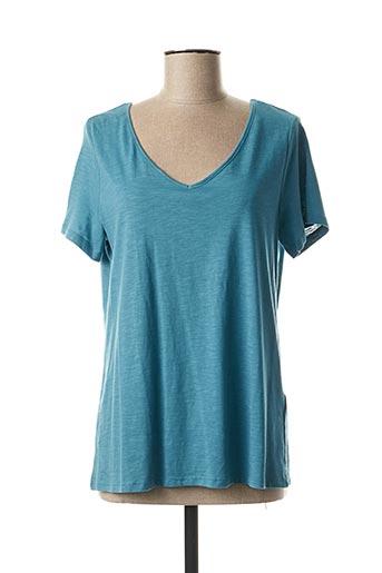 T-shirt manches courtes bleu ESPRIT pour femme