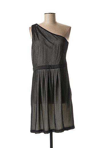 Robe mi-longue noir ESPRIT pour femme
