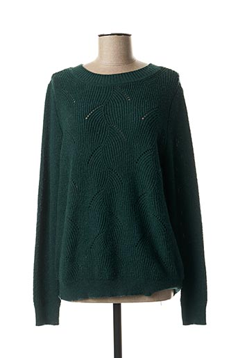 Pull col rond vert ESPRIT pour femme