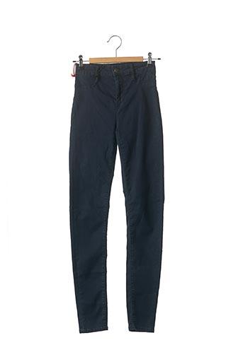 Jeans skinny bleu SCHOOL RAG pour femme