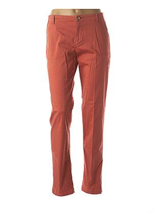 Pantalon casual orange NICE THINGS pour femme