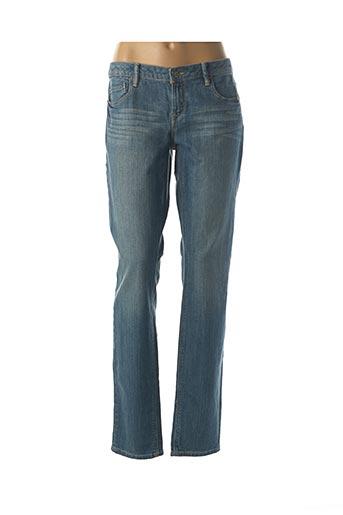 Jeans coupe droite bleu EDC pour femme