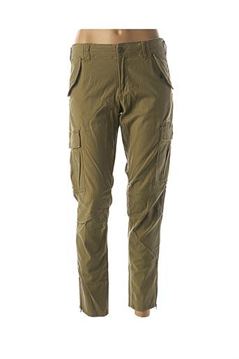 Pantalon casual vert RALPH LAUREN pour femme