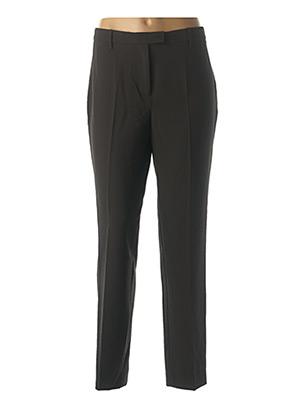 Pantalon casual noir NICE THINGS pour femme