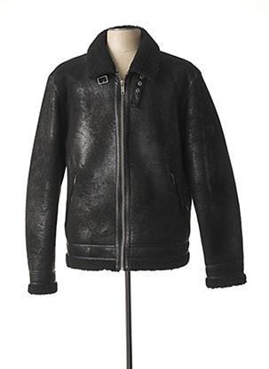 Manteau court noir PREMIUM DE JACK AND JONES pour homme