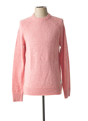Pull col rond rose SCOTCH & SODA pour homme