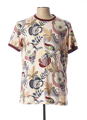 T-shirt manches courtes rose PEARLY KING pour homme