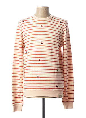Sweat-shirt rose SCOTCH & SODA pour homme