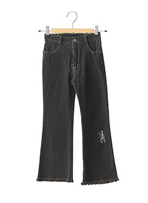 Jeans bootcut noir FLORIANE pour fille