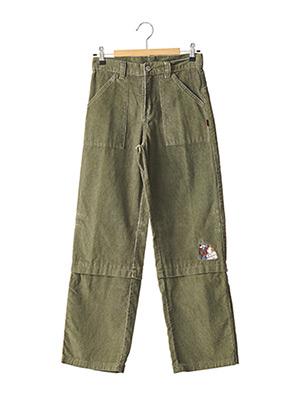 Pantalon casual vert TINTIN pour garçon