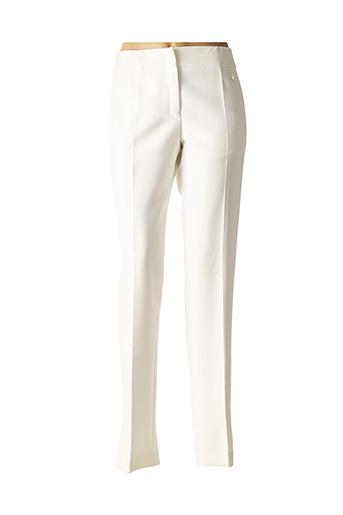Pantalon chic blanc VERSACE pour femme