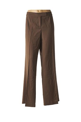 Pantalon chic marron RENATO NUCCI pour femme