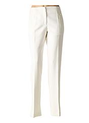 Pantalon chic blanc VERSACE pour femme seconde vue