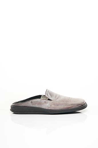 Chaussons/Pantoufles gris FLORENTINO pour homme