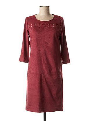 Robe courte rouge FRED SABATIER pour femme