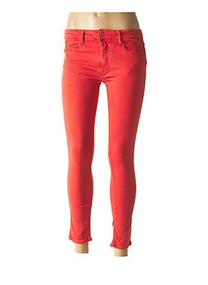 Jeans skinny orange APRIL 77 pour femme