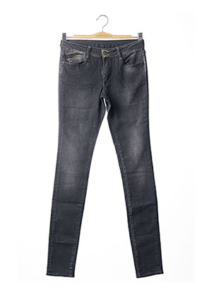 Jeans coupe slim gris LE TEMPS DES CERISES pour fille
