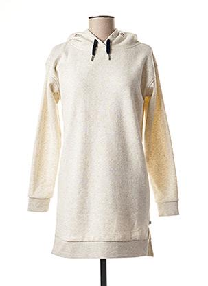 Robe pull beige LE TEMPS DES CERISES pour fille